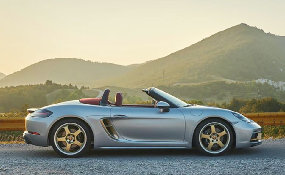 25 летие 2021 Porsche Boxster